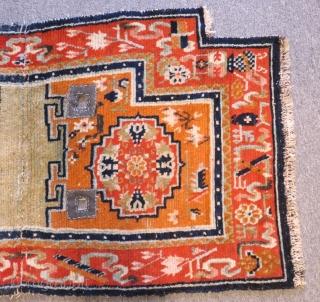 Antique Tibetan Horce Cover Carpet Size.114x62cm
