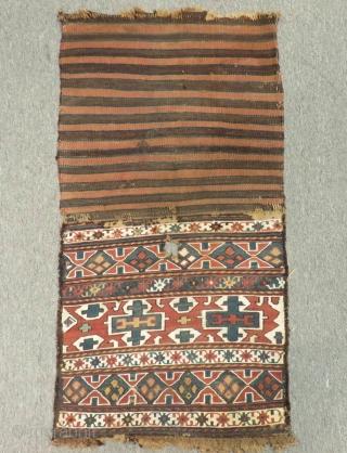 Antique Shahsavan Sumak Bagface Size.42x40cm