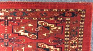 Antique Türkmen Tekke Torba Size.112x39 Cm