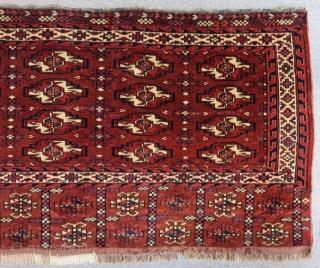 Antique Türkmen Yamud Chuval Size.128x72 Cm