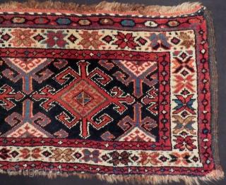 Antique Persian Veramin Mafrash Size.96x43cm