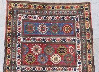 Antique Caucasian Karabakh Carpet Size.255x100cm