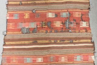 18th Century Anatolian Kilim Size.250x175cm