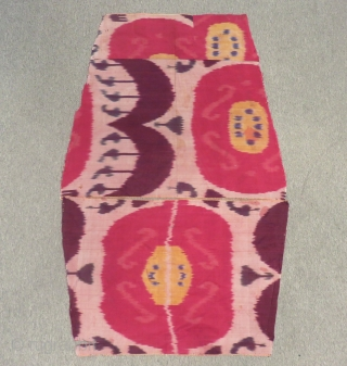 Antique Özbek İkat Textile fragments Size.108x45 Cm