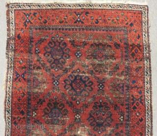 Antique Baluch Rug Size.145x83 Cm