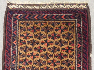 Antique Baluch Rug Size.114x87 Cm