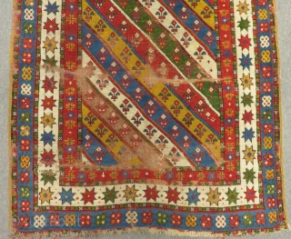 Antique Shahsavan Rug Very Nice Colors and Very Soft Wool Size.202x105 Cm