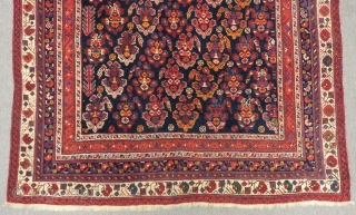 Antique  Persian Afshar Rug Size.176x128cm