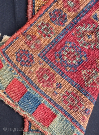 Antique Persian Kurdish Bagface Size.50x50 Cm