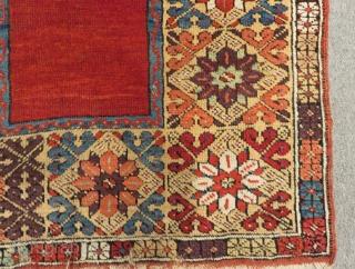 Early 19th Century Central Anatolian Konya Prayer Rug Size.154x108 Cm
