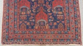 Antique Afshar Carpet Size.200x150cm
