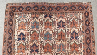 Antique Afshar Carpet Very Good Colors Size.170x144cm