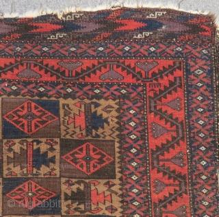Antique Baluch Carpet Size.158x88cm