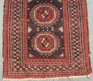 Antique Baluch Carpet Size.165x92cm