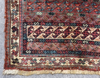 Antique Qashqai Carpet Bagface Size.60x52cm