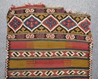 Antique Manastır Kilim Yastık Size 106x62cm