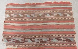 Antique West Anatolian Balıkesir Kilim Size.260x150cm