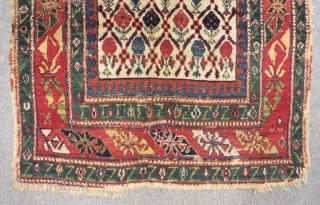 Antique Caucasian Sirvan Marasali Carpet Size.134x95cm
