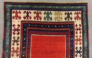 Antique Caucasian Talısh Rug Circa 1880 Size.245x120 Cm