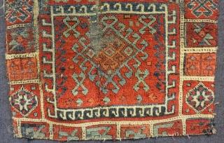 Mid 19th C East Anatolian Sivas Yastık Size.82x62 Cm