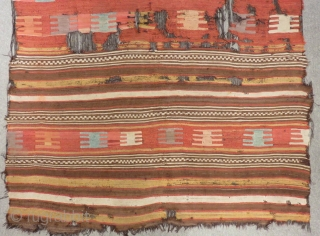 Early 19th Century South Anatolian  Kilim Size.245x175 Cm