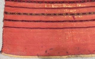Antique Türkmen Yamud Chuval Size.120x80 Cm
