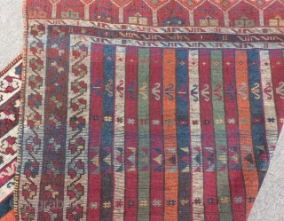 Antique East Anatolian Sivas Carpet Size.226x146cm
