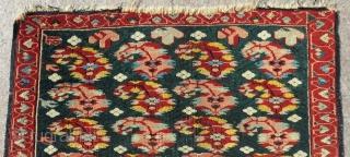 Antique Caucasian Zeyhur Small Rug Size.78x65 Cm