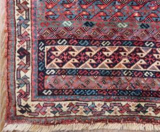 Antique Khamseh Bagface Size.61x53 Cm
