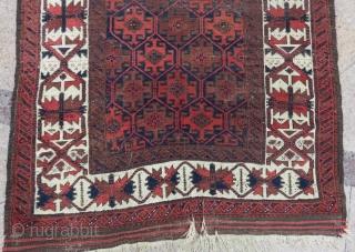 Antique Baluch Rug Size.180x105 Cm