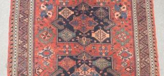 Antique Caucasian Konakkent Sumak Size.226x170cm