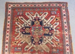 Antique Caucasian Chelaberd Carpet Size.213x142cm