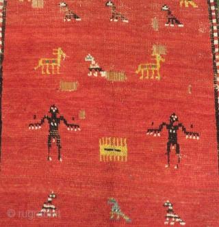 Antique Caucasian Borjalu Carpet Size.232x122cm