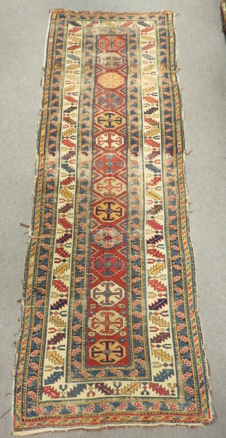 Antique Caucasian Kuba Sirvan Size.260x92cm
