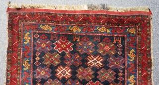 Antique Afshar Bagface Size.76x60cm
