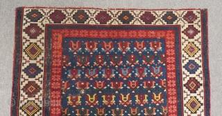 Antique Caucasian Zehur Carpet Size.160x106cm