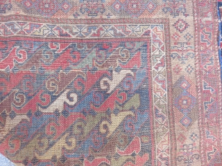 Antique Persian Kurdish Carpet Size.290x133cm