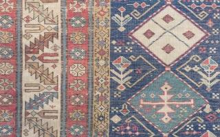 Antique Caucasian Shirvan Kuba Rug Size.240x102 Cm