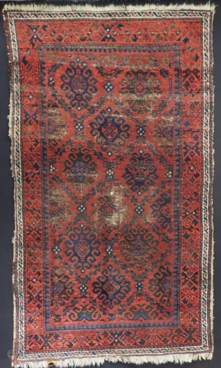 Antique Baluch Rug Size.145x83 Cm