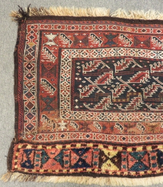 Antique Persian Lor Horse Cover Size.113x66cm