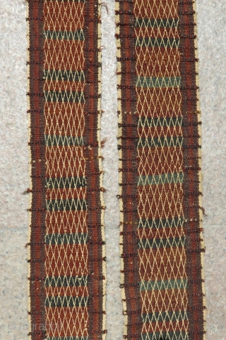 Antique Baluch Tent Band Size.570x13 Cm