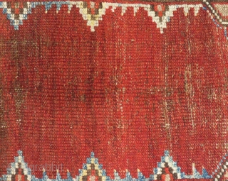 Early 19th Century Central Anatolian Karaman Prayer Rug Size.148x96cm