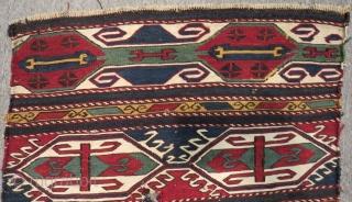 Antique Shahsavan Sumak Mafraash Size.58x55 Cm