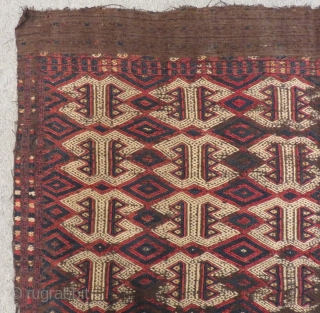Antique West Anatolian Balıkesir Cecim Size.152x147cm