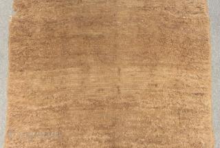 Antique Central Anatolian Karapınar Tülü Camel wool Size.300x135cm
