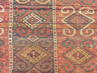 Antique East Anatolian Erzurum Rug Size.215x115cm