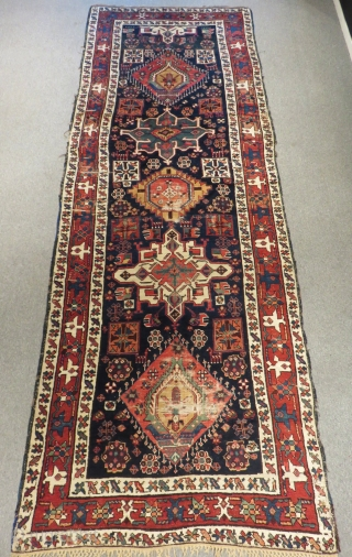 Antique Nort West Persian Rug Size.365x135cm