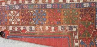 Early 19th Century Central Anatolian Konya Prayer Rug Size.137x97cm