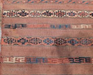 Antique Türkmen Yamud Chuval Size.125x85 Cm