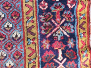 Antique Shahsavan Runner Rug Very Good Full condition Size.320x104cm